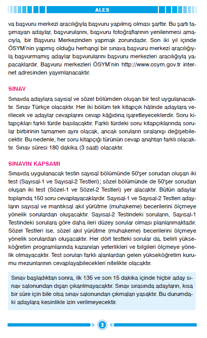 2012 ALES Sınav Rehberi 4