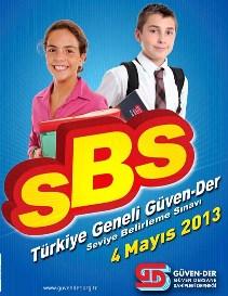 4 Mayıs 2013 Güvender SBS Cevap Anahtarı 1
