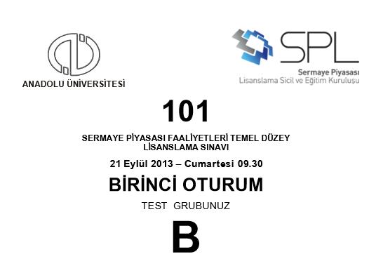 21-22 Eylül 2013 SPK Sınavı Cevapları 6