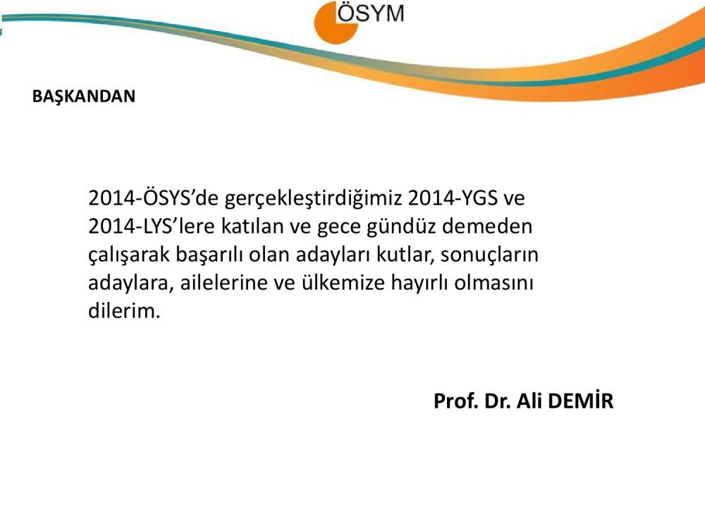 2014 LYS Sayısal Bilgiler 2. Bölüm 17