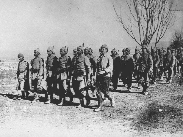 1. Dünya Savaşı'ndan ilk kez yayınlanan kareler 12