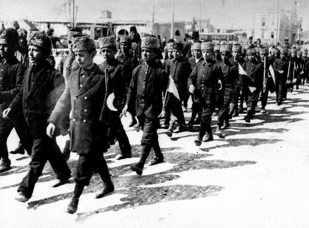1. Dünya Savaşı'ndan ilk kez yayınlanan kareler 4