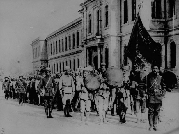 1. Dünya Savaşı'ndan ilk kez yayınlanan kareler 5