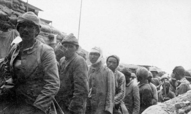 1. Dünya Savaşı'ndan ilk kez yayınlanan kareler 9