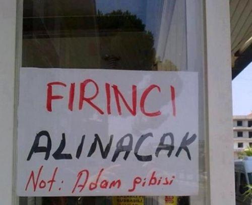 Türkiye'den komik ilanlar 16