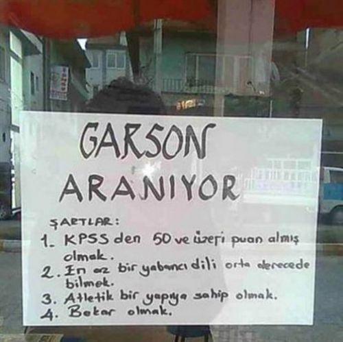 Türkiye'den komik ilanlar 5