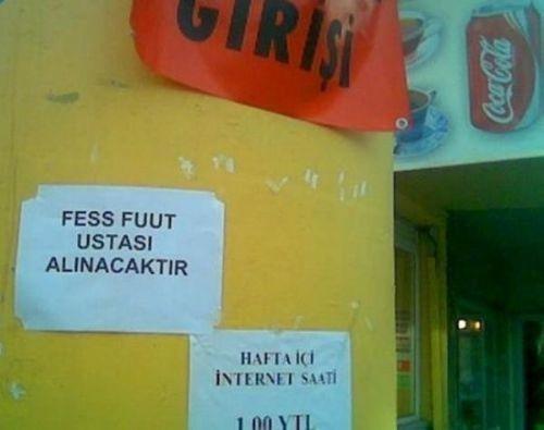 Türkiye'den komik ilanlar 7