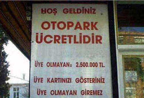 Türkiye'den komik ilanlar 9