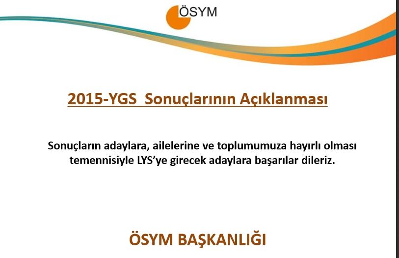 2015 YGS Sayısal Bilgiler 14