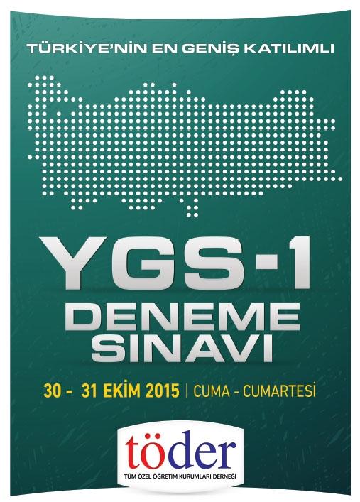 30-31 Ekim 2015 Töder YGS-1 Sınav Soruları ve Cevap Anahtarı 3
