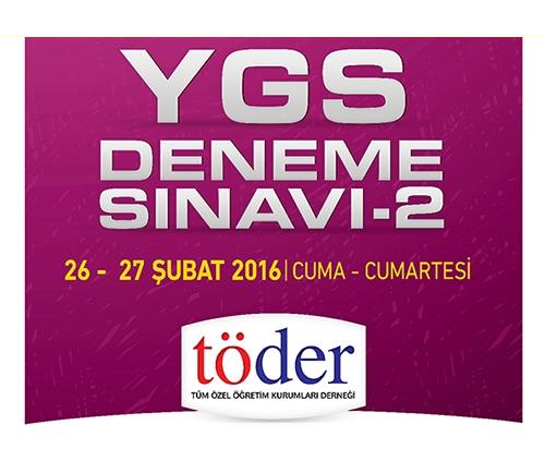 26-27 Şubat 2016 Töder YGS-2 Sınav Soruları ve Cevap Anahtarı 3