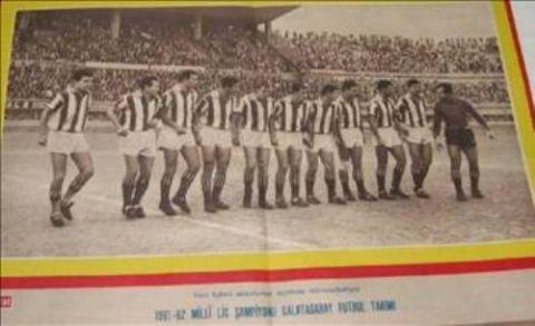 İşte Galatasaray'ın tüm şampiyonlukları 1