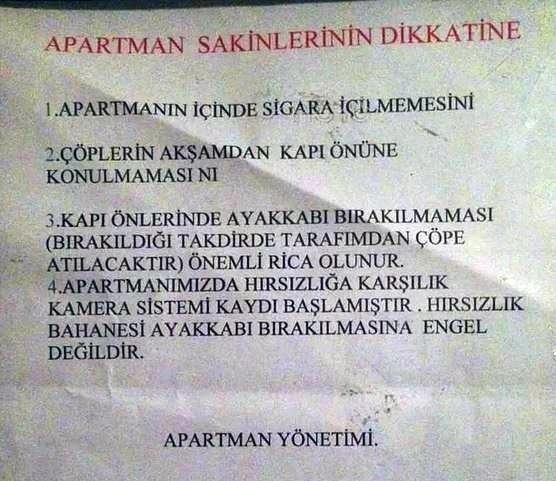 Gülme garantili apartman yönetimi yazıları 14