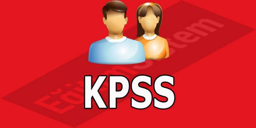 KPSS Ön Lisans Sınav Sonuçlarına İlişkin Sayısal Bilgiler