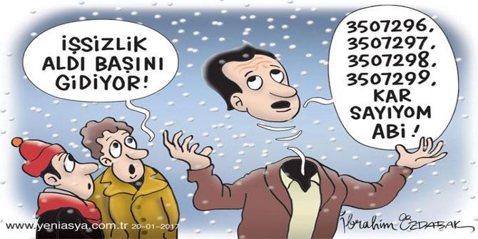 Günün Karikatürü - 2017 Ocak 1