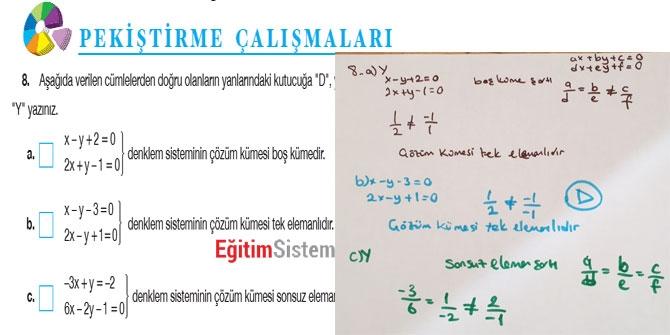 11. Sınıf Matematik Sayfa 108-109 Cevapları 10