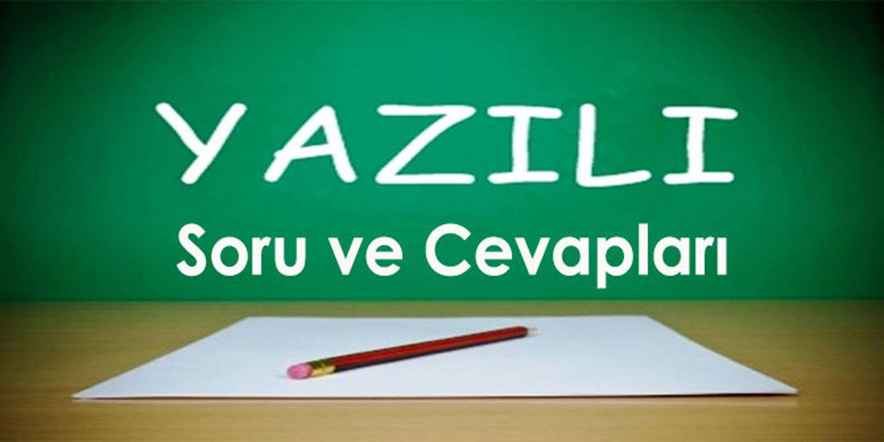 4. Sınıf Türkçe 1. Dönem 3. Yazılı Soruları (II)