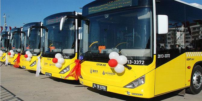 18 Eylül Pazartesi İETT, otobüs, metro ve metrobüs ücretsiz