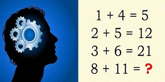 Bu zeka testini 1000 kişiden bir kişi çözebiliyor