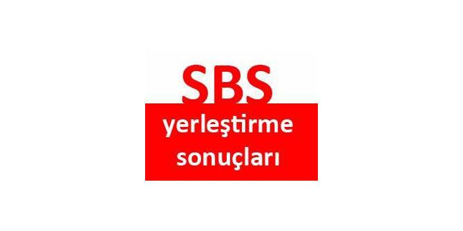 SBS Lise Yerleştirme Sonuçları ve Taban Puanları 2012 2013