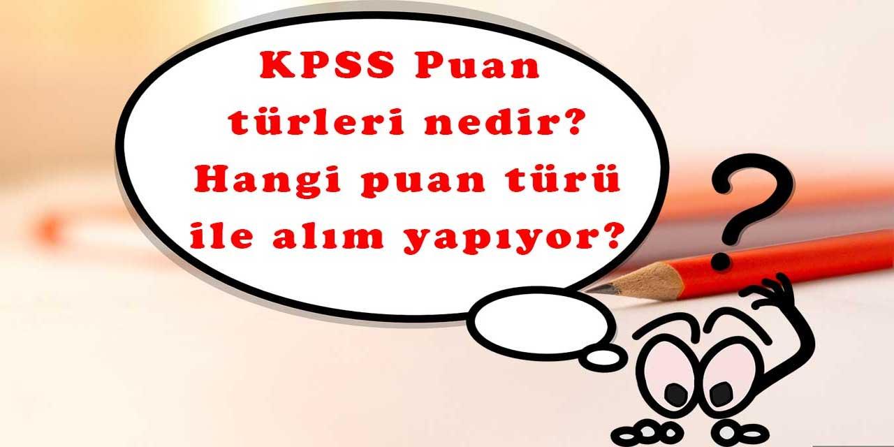 KPSSP35 Puan türü nedir nasıl hesaplanır