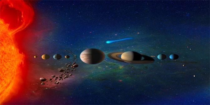 Güneş Sistemi'nin en yaşlı gezegeni Jüpiter
