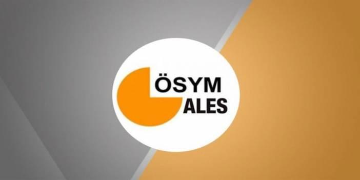 2017 e-ALES ve ALES Sınav Takvimi