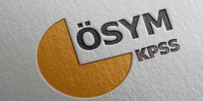 ÖSYM, KPSS DHBT sonuçlarını açıklandı