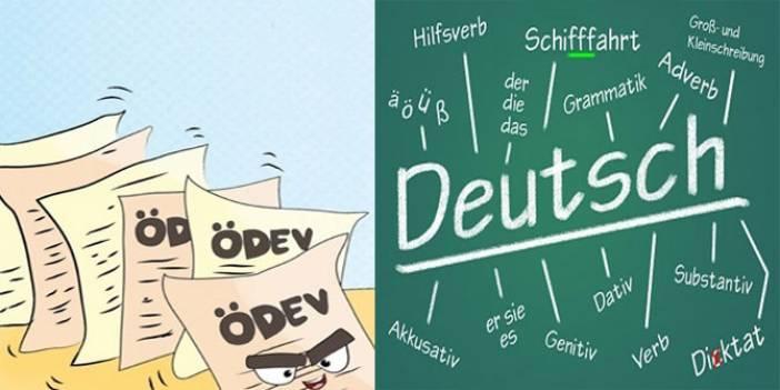 Almanca meyveler ve sebzeler