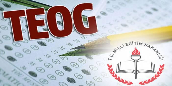 TEOG 2014-2015 Sınav Soru ve Cevapları tıkla indir