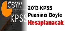 KPSS Lisans mezunlarının KPSS puanı nasıl hesaplanır? 1