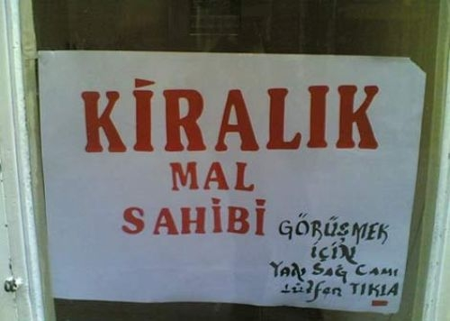 Türkiye'den komik ilanlar 17