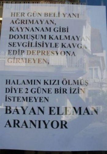 Türkiye'den komik ilanlar 3