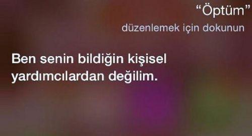 Türkçe Siri'den seçmeler... 3