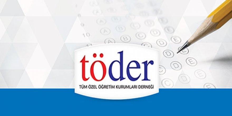 10-11-12 Mart TÖDER 2. YKS Deneme Sınavı Cevap Anahtarı