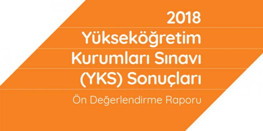 2018 YKS Sonuçları Sayısal Bilgiler