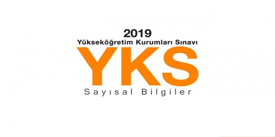 2019 YKS Sonuçları Sayısal Bilgiler