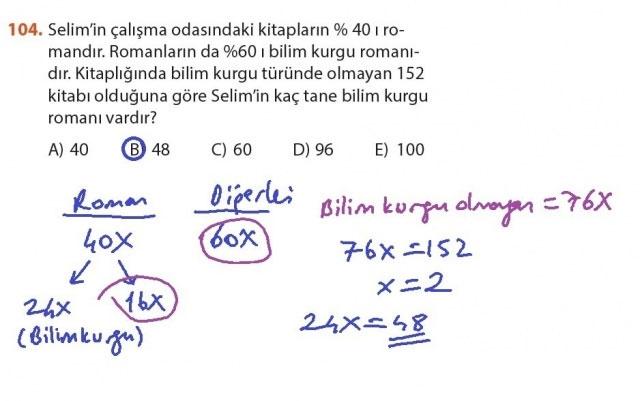 9. Sınıf Meb Matematik Sayfa 184-194 Cevapları 104