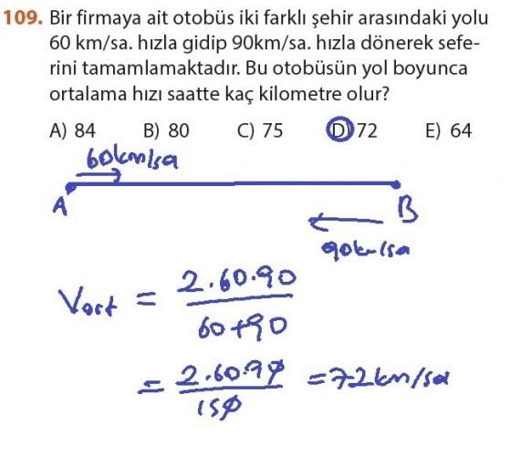 9. Sınıf Meb Matematik Sayfa 184-194 Cevapları 109