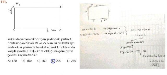 9. Sınıf Meb Matematik Sayfa 184-194 Cevapları 111