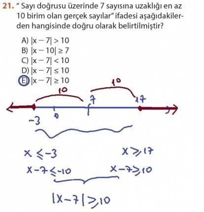 9. Sınıf Meb Matematik Sayfa 184-194 Cevapları 21