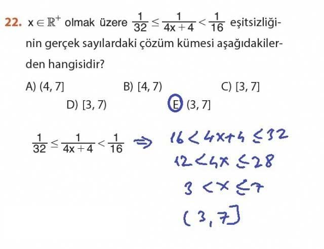 9. Sınıf Meb Matematik Sayfa 184-194 Cevapları 22