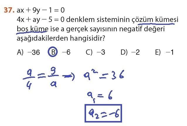 9. Sınıf Meb Matematik Sayfa 184-194 Cevapları 37