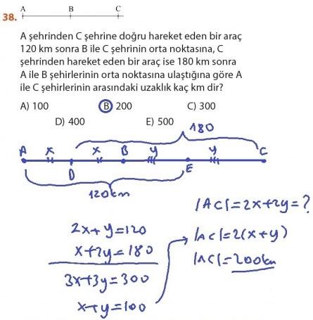 9. Sınıf Meb Matematik Sayfa 184-194 Cevapları 38