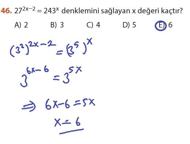 9. Sınıf Meb Matematik Sayfa 184-194 Cevapları 46