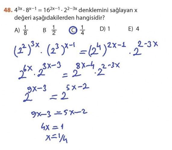 9. Sınıf Meb Matematik Sayfa 184-194 Cevapları 48