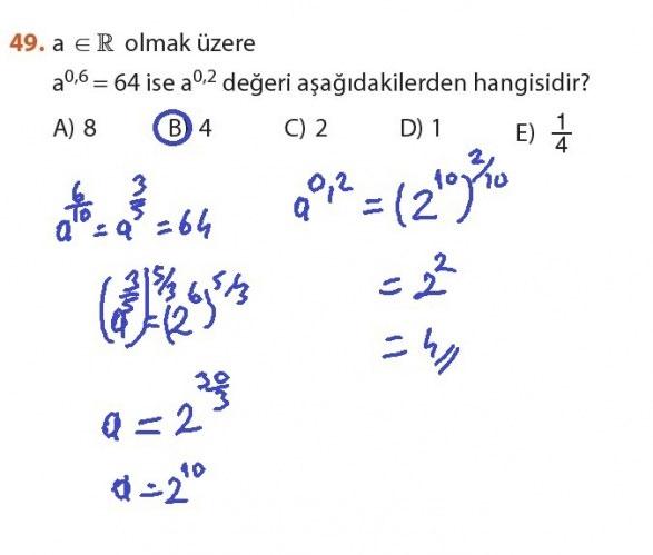 9. Sınıf Meb Matematik Sayfa 184-194 Cevapları 49