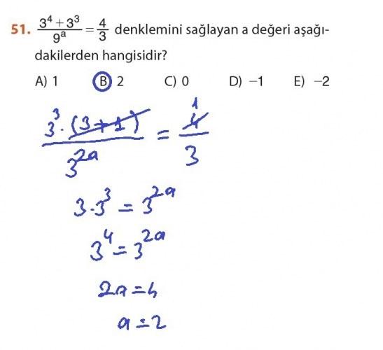9. Sınıf Meb Matematik Sayfa 184-194 Cevapları 51