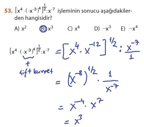 9. Sınıf Meb Matematik Sayfa 184-194 Cevapları 53