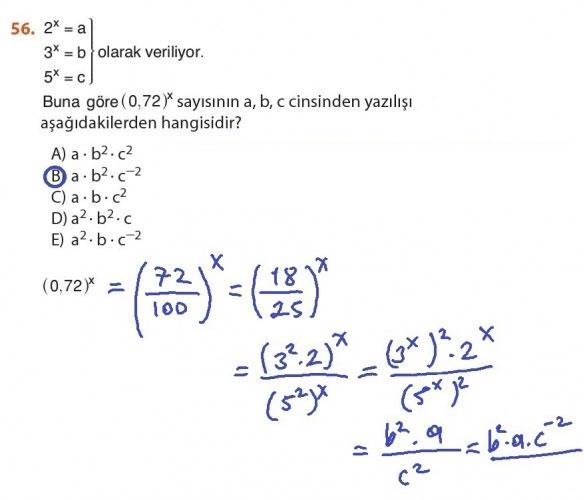 9. Sınıf Meb Matematik Sayfa 184-194 Cevapları 56